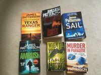 13 James Patterson books