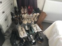 Large Selection of ladies shoes and boots