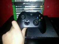 Xbox one, kinect and 12 games