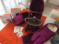 Stokke Xplory pram & matching accessories, worth over £2000!