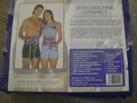lean machine compact electronic toning system, unopened, never used.
