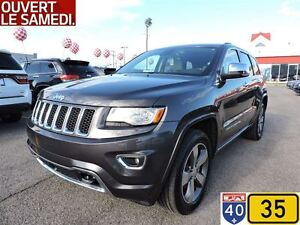 2015 Jeep Grand Cherokee OVERLAND, CRUISE ADAPTATIF, TOIT PANO,  West Island Greater Montréal image 1