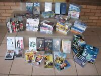 Video film collection job lot , WIDE range of subjects
