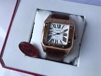 Swiss Cartier Santos 100 Automatic Watch 1