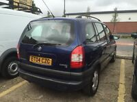 2004 VAUCHALL ZAFIRA 1,8 PETROL , AUTOMATIC, M,O,T +TAX, READY TO DRIVE WAY