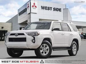 2016 Toyota 4Runner SR5–Accident Free–Navigation–Satellite Radio
