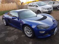 Lotus Europa S, 2007 model, Magnetic Blue with black interior, 225 factory upgrade