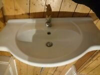 Large hotel style bathroom sink