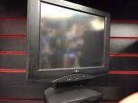 Fujitsu LCD Display Pc Mac VGA Monitor Retail EPOS