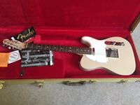 USA Fender American Telecaster Blonde with hardcase