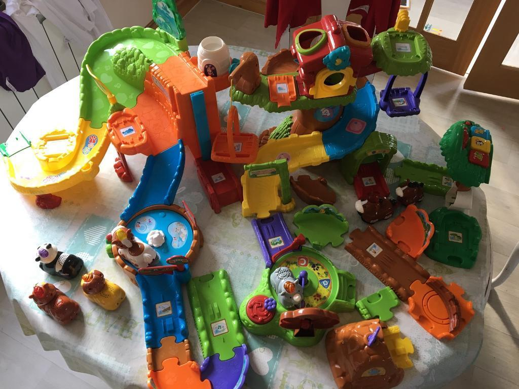 VTech Toot-Toot Animals Tree House, Forest Adventure and Safari Park | in Llanelli ...