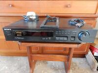 sony stereo rds,eon FM/MW/LW. tuner
