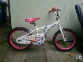 Girl blossom bike 16 inch