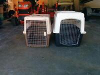X-large and large dog kennels
