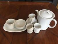 Coffee set, including 6 cups and saucers