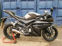 Yamaha yzf r125 new shape