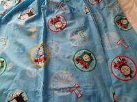 Thomas the Tank Engine curtains and bedding