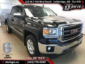 Used 2015 GMC Sierra 1500 SLT-Crew Cab 4WD, Heated Leather, Navi