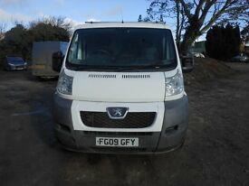 peugeot boxer professional 74 2009-09reg ALL VANS AND CARS REDUCED !!
