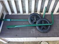 Wheels for Omlet Eglu Go UP