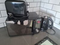 Russell Hobbs microwave, kettle and toaster set