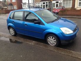 FORD FIESTA 1.4 LX AUTO 52K MILES FSH NEW TIMMING BELT like punto corsa clio jazz yaris civic c3