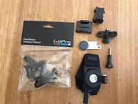 Go Pro accessories new hand and wrist strap + seat post mount