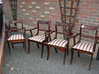 4no Carver Dining Room Chairs