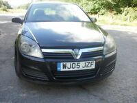 2005 VAUXHALL ASTRA BREEZE BLACK 1.6 ALLOYS 5 DOOR AIR-CON MOUNTAIN OF HISTORY COLLECT NOW