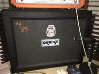 Orange Jim Root Speaker Cab
