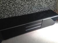 IKEA TV stand black