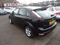 FORD FOCUS ZETEC 1.6 PETROL AUTOMATIC ONLY 56K MILEAGE 12 MONTHS MOT AND 3 M NATIONWIDE WARRANTY