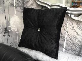Velvet diamont'e Cushion