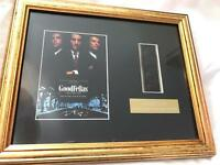 Goodfellas Original Filmcell Limited Edition Memorabilia - Mounted