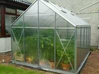Used Eden Consort 8x10ft 6mm Polycarbonate Greenhouse