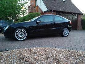 Mercedes C220 CDI SE AUTO Coupe Automatic Black