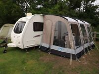 Avondale arrow 470-2. 2 berth end bathroom power mover and awning,