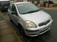 2004 toyota yaris 1.0 for repair.