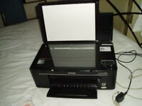 Epsom printer/scanner/copier for spares or repair - ink jets blocked as not been used for ages