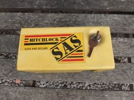 SAS Hitchlock for Trailer/Caravan/Boat Used with 2 keys