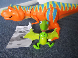 Dinosaur Train Interactive Roar and React Boris and Tiny from Tomy