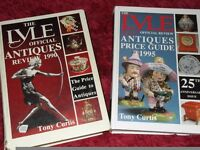 x2 Large Antique Books by The Lyle - Official Reviews.