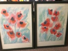 Framed pictures by Linda Fay Powell
