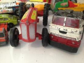 Vintage die cast Cars Lorries etc Matchbox corgi + more