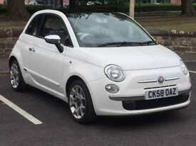 FIAT 500 2009 (58 REG)*£2499*LOW MILES*LONG MOT*CHEAP CAR TO RUN*IDEAL FIRST CAR*PX WELCOME*DELIVERY