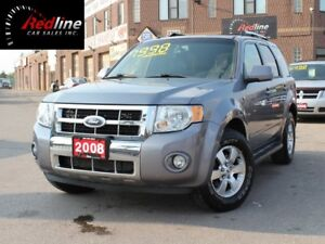 2008 Ford Escape Limited V6 AWD Leather-Sunroof
