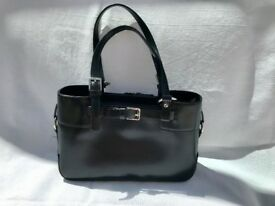 Hand Bag - Next / Black (patent-leather look) (no. 5 / 7 handbags for sale)