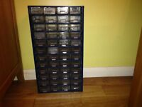 metal drawer storage/organiser