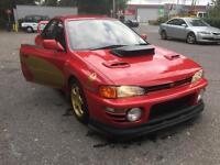 Subaru Impreza 1996 version 2 rare sti very clean in and out.