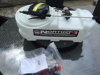 12 volt sprayer 38 litres suits atv or ride on lawn mower
